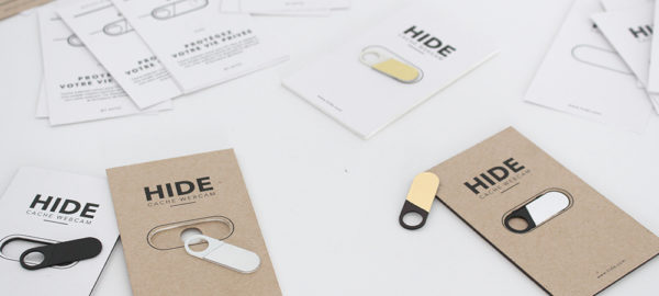Crowdfunding : HIDE cache webcam par le Studio AYTO