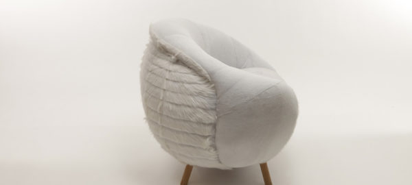 Projet étudiant : Fauteuil Going back to the source par Laura Gourgeon