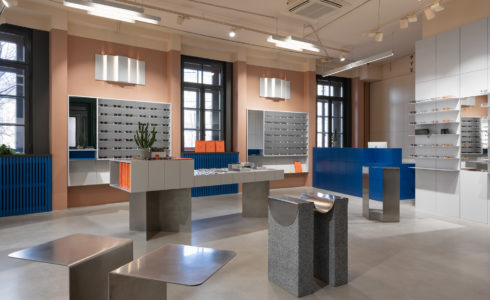 Retail : P.Y.E Store New Holland par le studio Facultative Works