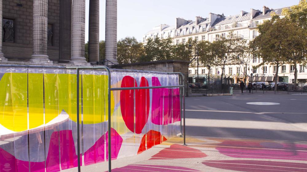 Vitraux urbains par Clémentine Pellegrin
