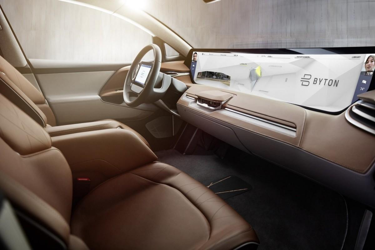 BYTON dévoile CONCEPT son 1er SUV électrique