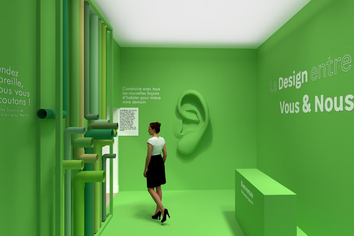 """Paris Design Week 2019 : Les coulisses du Design de Leroy Merlin """"Le Design entre Vous & Nous"""""""