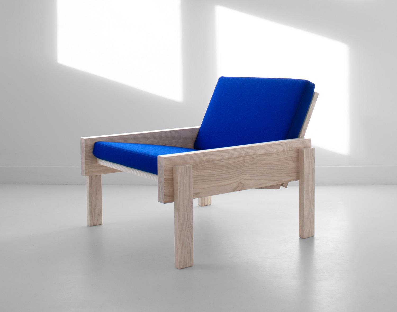 SOLID CHAIR le fauteuil Klein par Thijmen Van Der Steen
